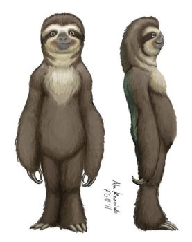 Sloth Character Sheet by RedBladeStudios