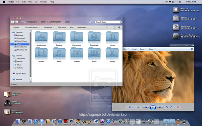 Mac Lion Beta 2 Glass Released by sagorpirbd