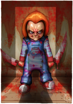 Child's Play - Chucky by Zelador