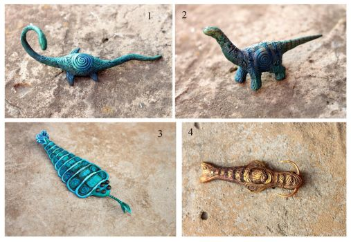 Miniature Prehistoric for sale by hontor
