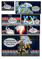 Comic Practice (Duel) by FrostRaven32