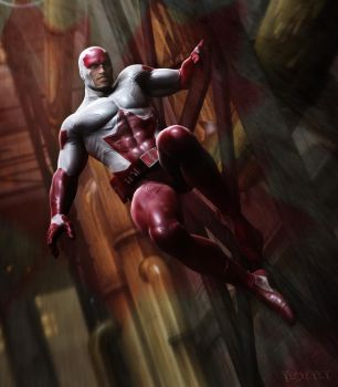Captain Canuck by RawArt3d