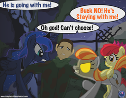 MLP Battle of the Blanks 7 by Template93