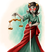Lady Justice by ChibiTaryn