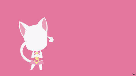 Carla (Fairy Tail) Minimalist Wallpaper by greenmapple17