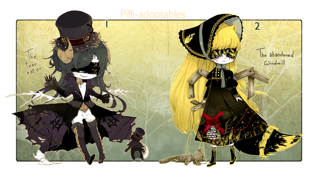 [CLOSED] HALLOWEEN ADOPT 271 - Blind Lace by Piffi-sisters