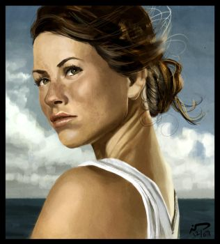 Kate from Lost - Speedpaint by Majoh