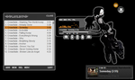 Black Rock Shooter Strength - Winamp Skin by 0x-Raven