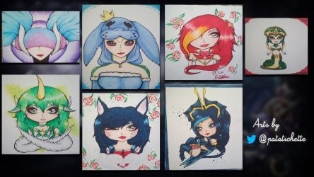 League of Legends Painting Arts by Patatichette by lol0verlay