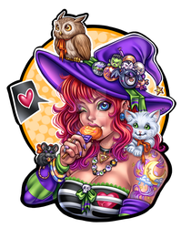witches pet by Harpyqueen