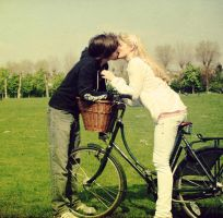 Bicycle Love. by kittysyellowjacket