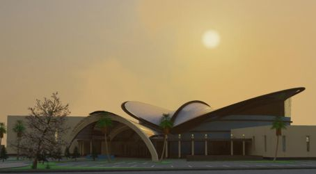 Convention Centre 3D by Buabeh