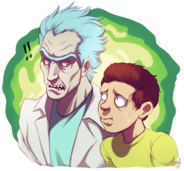 Shut up, Morty!! by Felixfellow