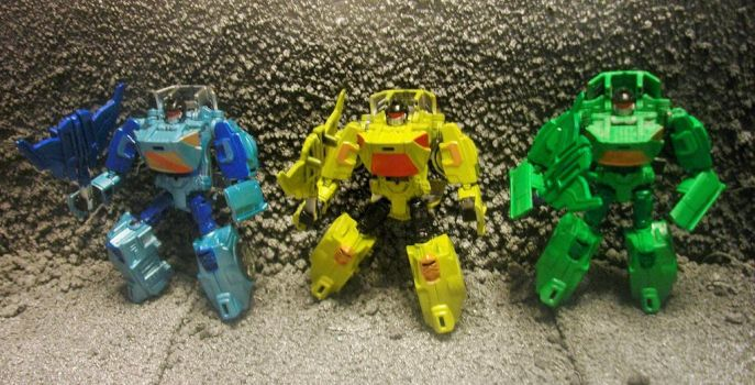 TRANSFORMERS DEVASTATION BATTLECHARGER DRONES 1 by GRIMLOCKPRIME108
