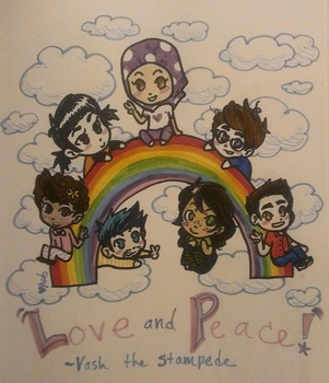 Love and Peace! by AubBeast