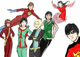 The New Young Justice by magickmaker