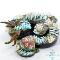 Forest Dragon Dice Holder by Bon-AppetEats