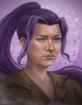 Violets by eychanchan