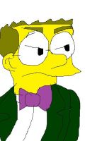 Bothered Smithers by RozStaw57