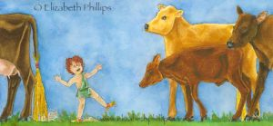 The Theft of Apollo's Cattle by ElizabethPhillips