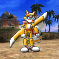 Tails - Hurricane Battle Armor by Blues-LeSharpe