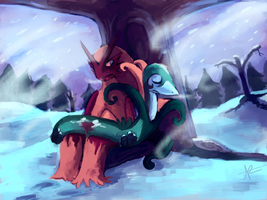 Commission: The Blizzard by MusicalCombusken