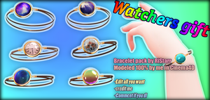WATCHERS GIFT - Bracelet pack by RiStarr