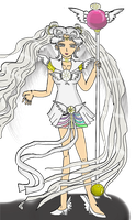 Winged Sailor Cosmos by TanithLipsky
