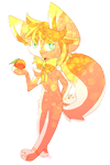 {Art Trade} That Sweet Peach by DespairGriffin