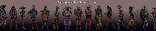 Morrowind persons pack by AlexeyRudikov