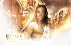 Rome (Loki and Thor) by AnnGeea