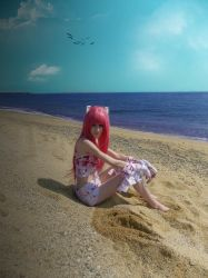 cosplay lucy from elfen lied 2 by Lucy-Dark-Dreams