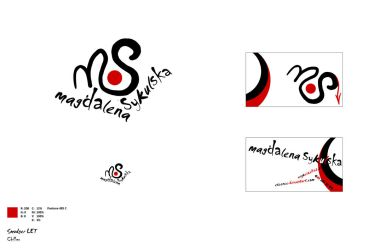 Logo and business card by excence