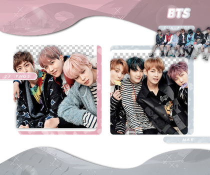 PACK PNG 706 // BTS by DUA-PNGS