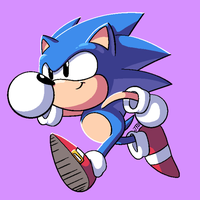 Toot Toot Sonic Warrior by JohnTheBaratrian