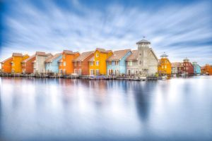 Colored Houses by MarcelHieber