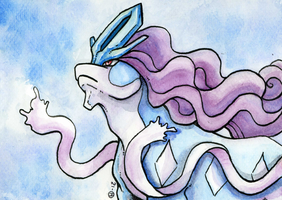 Suicune by Eyeless1703