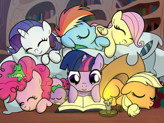 Pile o' Fillies by artwork-tee