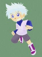 Killua Zoldyck by K-b0t