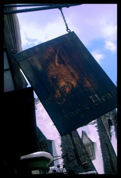 Hogsmeade: Hog's Head by fansnaruto-oldiblog