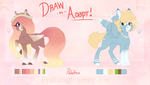 CLOSED Draw to Adopt - Pegasus Ponies - WINNERS! by frostedpuffs