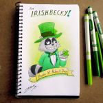 Gift-art for IrishBecky (In St. Patrick Day) by SAGADreams