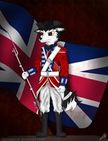 British Redcoat by ZigZagGhost