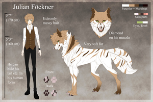 .:Julian Foeckner Ref Sheet:. by Ayuukuro