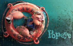 Popeye by DuncanFraser