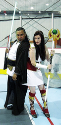 Jedi and Codex at SoMD Comic Con by Goblin-Queenie