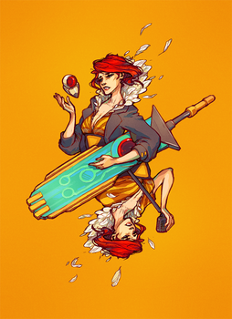 Red From Transistor by omg-its-mits