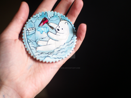 We Bare Bears Magnet by aquaticmine