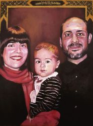 David's familly by picasio