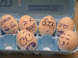 Eggs by TheGuyWithCloudEnvy